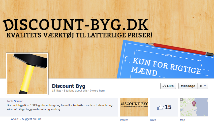 discount byg facebook side